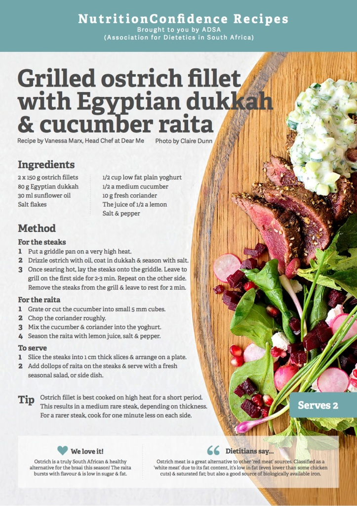 ADSA_Ostrich Recipe Card