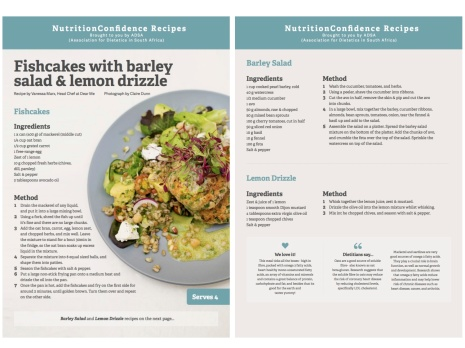 Fishcakes recipe for blog copy